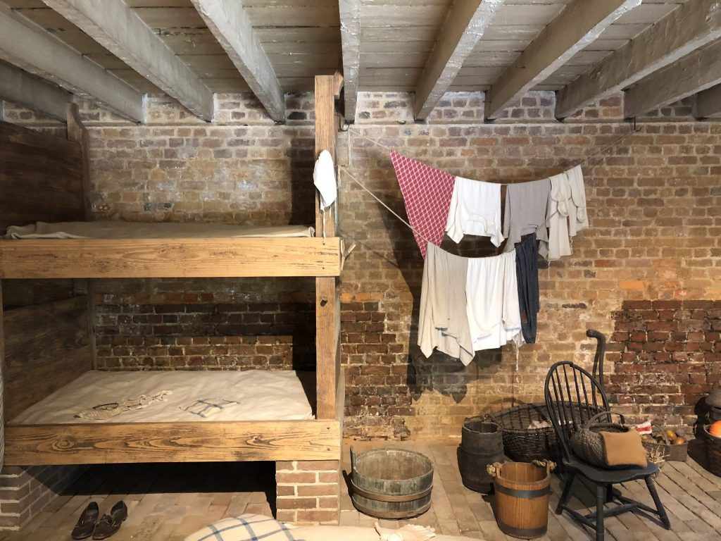 Her Life in Ruins | The Women's Bunk Room at Mount Vernon