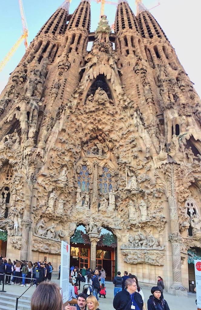 The Nativity Facade | The Sagrada Familia