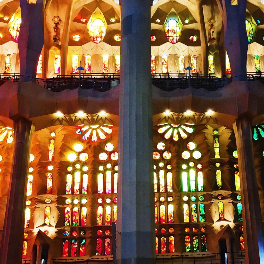 Stained Glass Windows | The Sagrada Familia