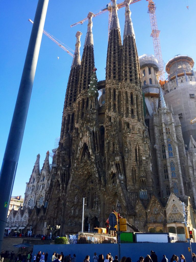 The Nativity Facade of The Sagrada Familia   Barcelona Essentials: 7 Days the Catalan Capital   Her Life in Ruins