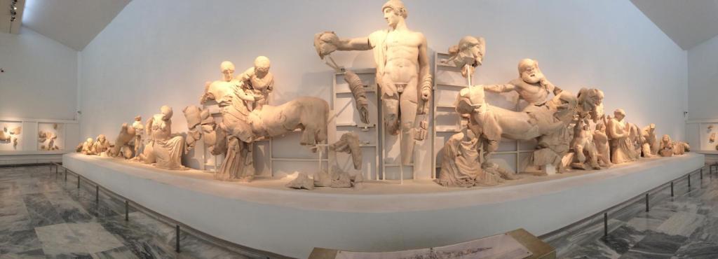 Temple of Zeus Pediment