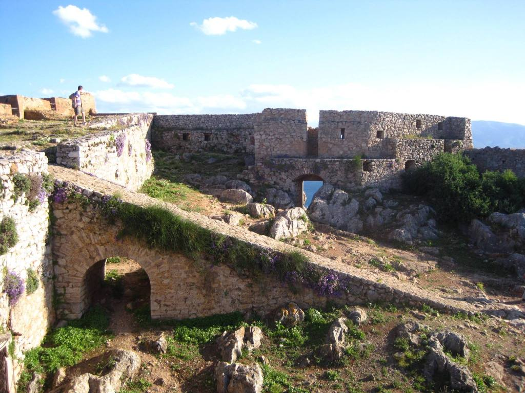 Some of the architecture at Nafplio's Palamidi Fortress