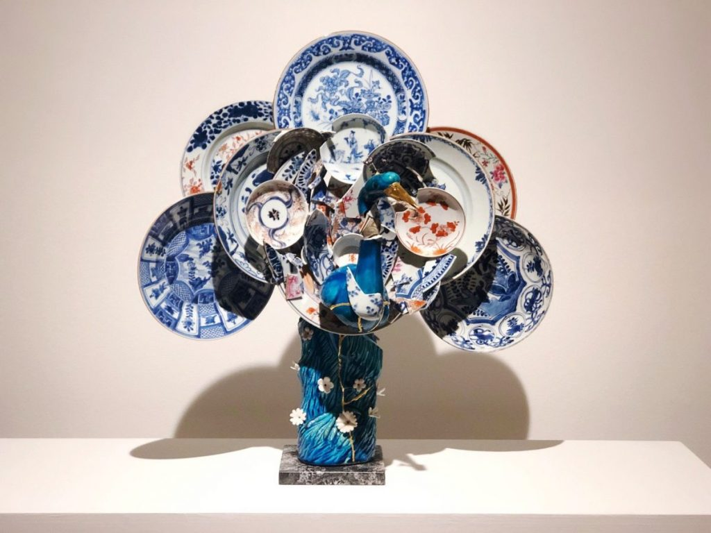 A Reconstructed Ceramic Peacock at Cheekwood in Bloom | Her Life in Ruins