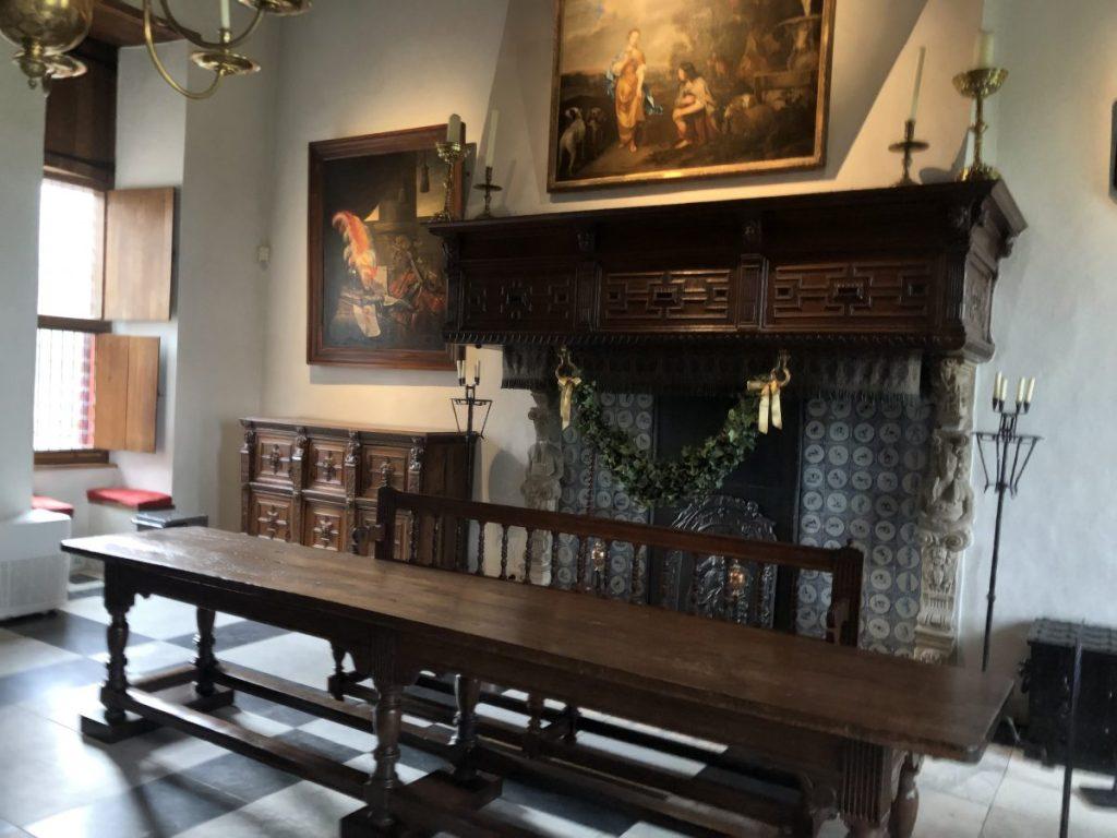 Muiderkring meeting area at Muiderslot Castle | Her Life in Ruins