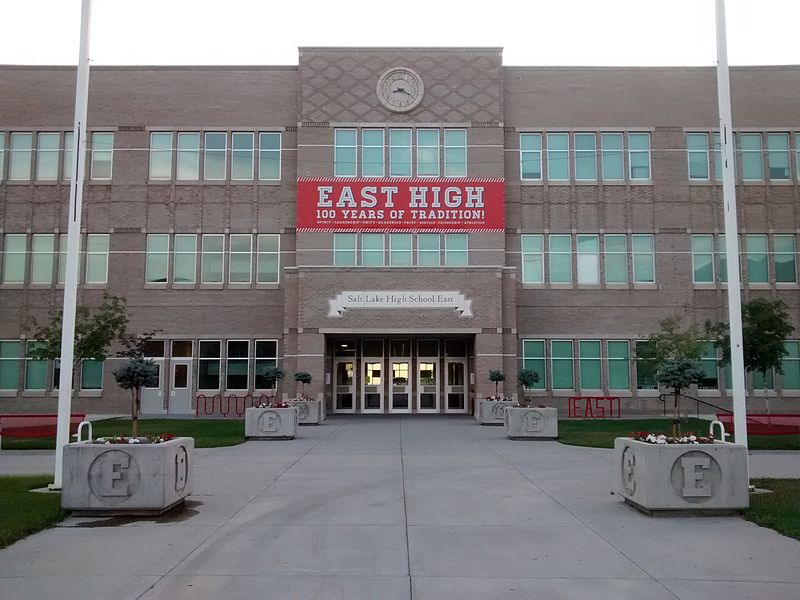 East High, SLC, Utah | Her Life in Ruins