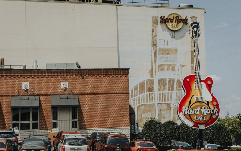 Hard Rock Cafe | The Ultimate Guide to Nashville's Lower Broadway | Her Life in Ruins