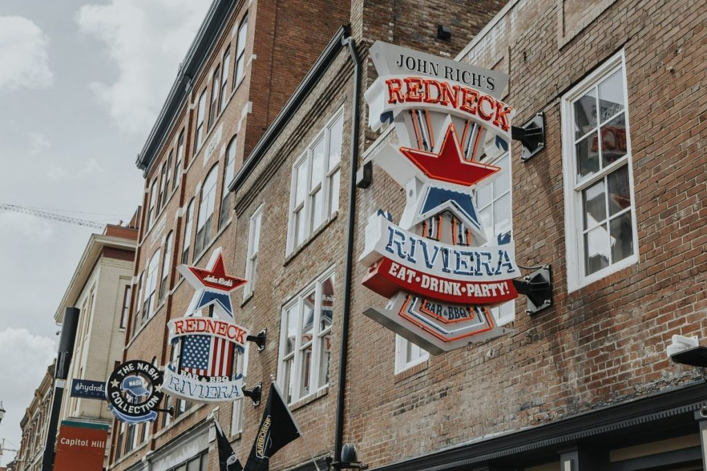 John Rich's Redneck Riviera | The Ultimate Guide to Nashville's Lower Broadway | Her Life in Ruins