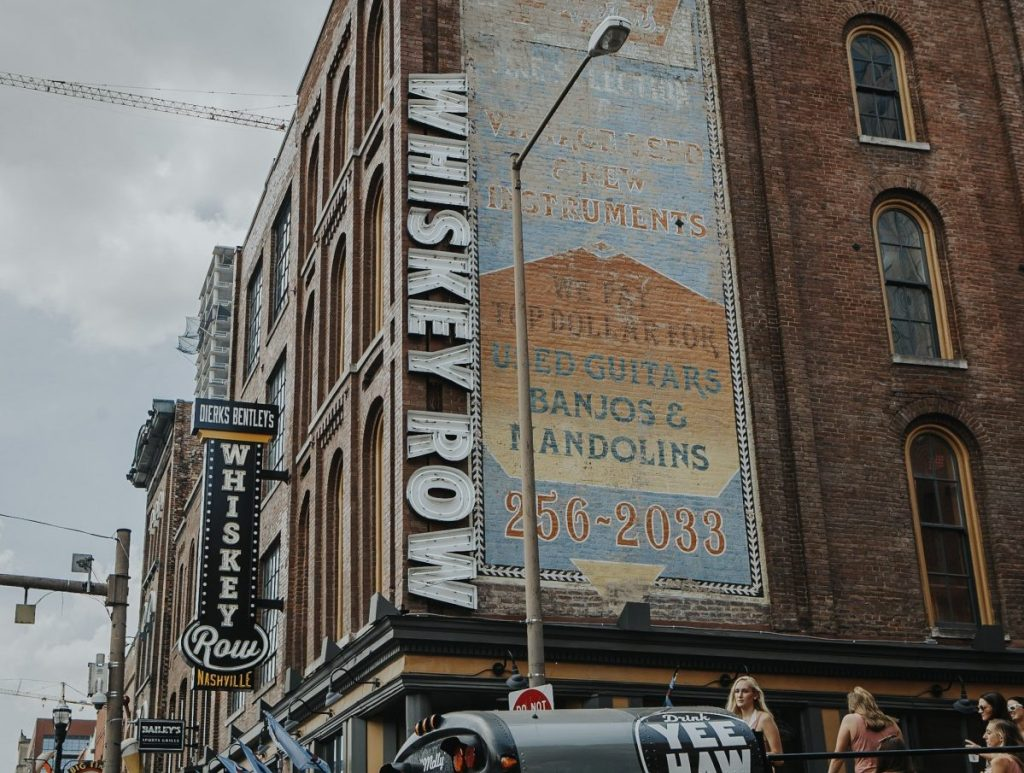 Dierks Bentley's Whiskey Row | The Ultimate Guide to Nashville's Lower Broadway | Her Life in Ruins