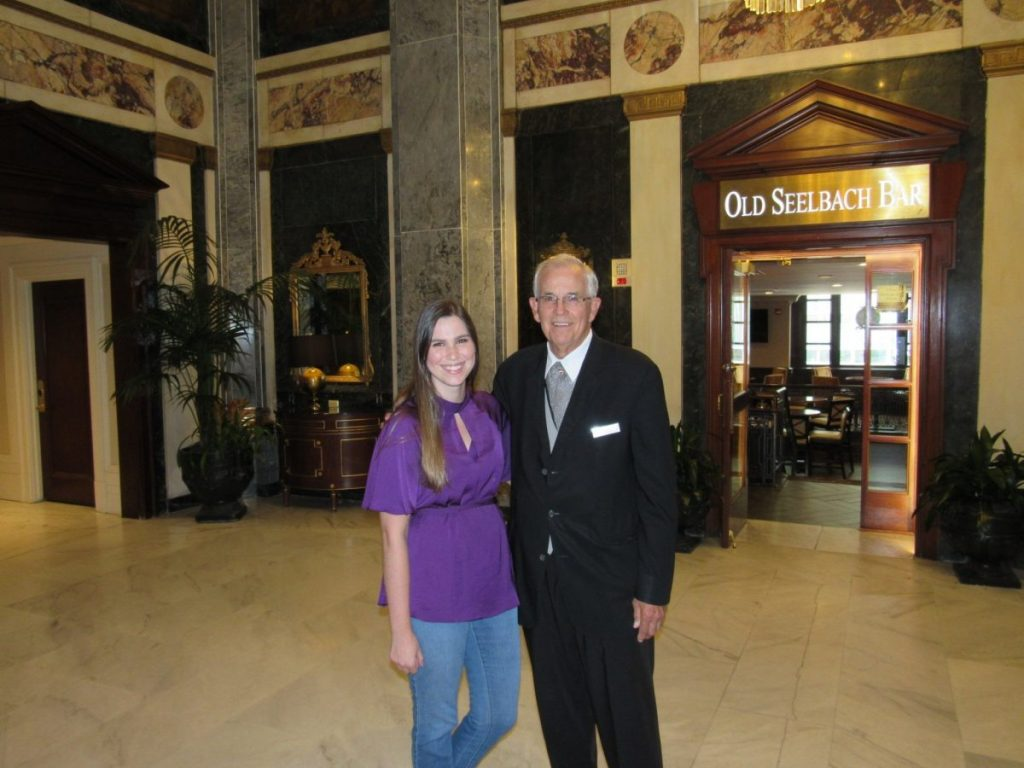 Meeting Larry Johnson at the Seelbach   Her Life in Ruins