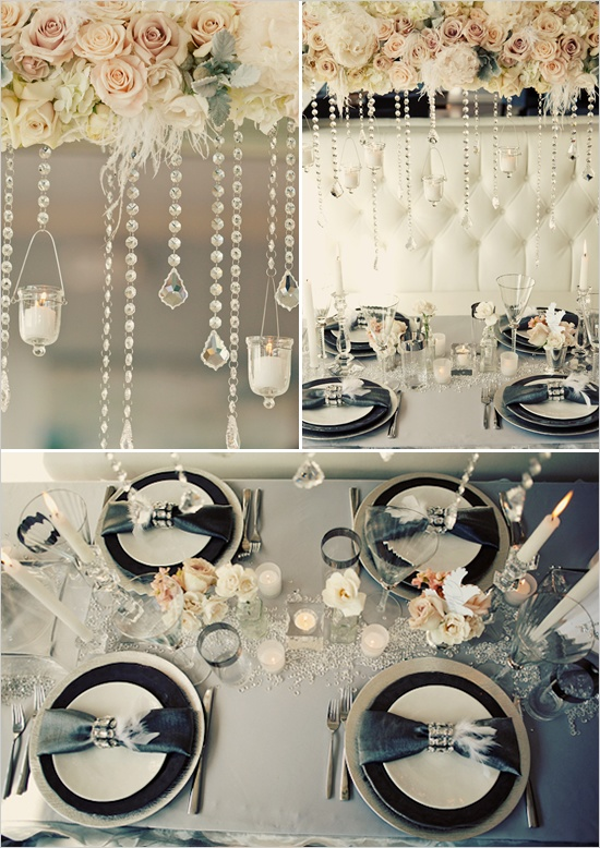 wedding gray and black
