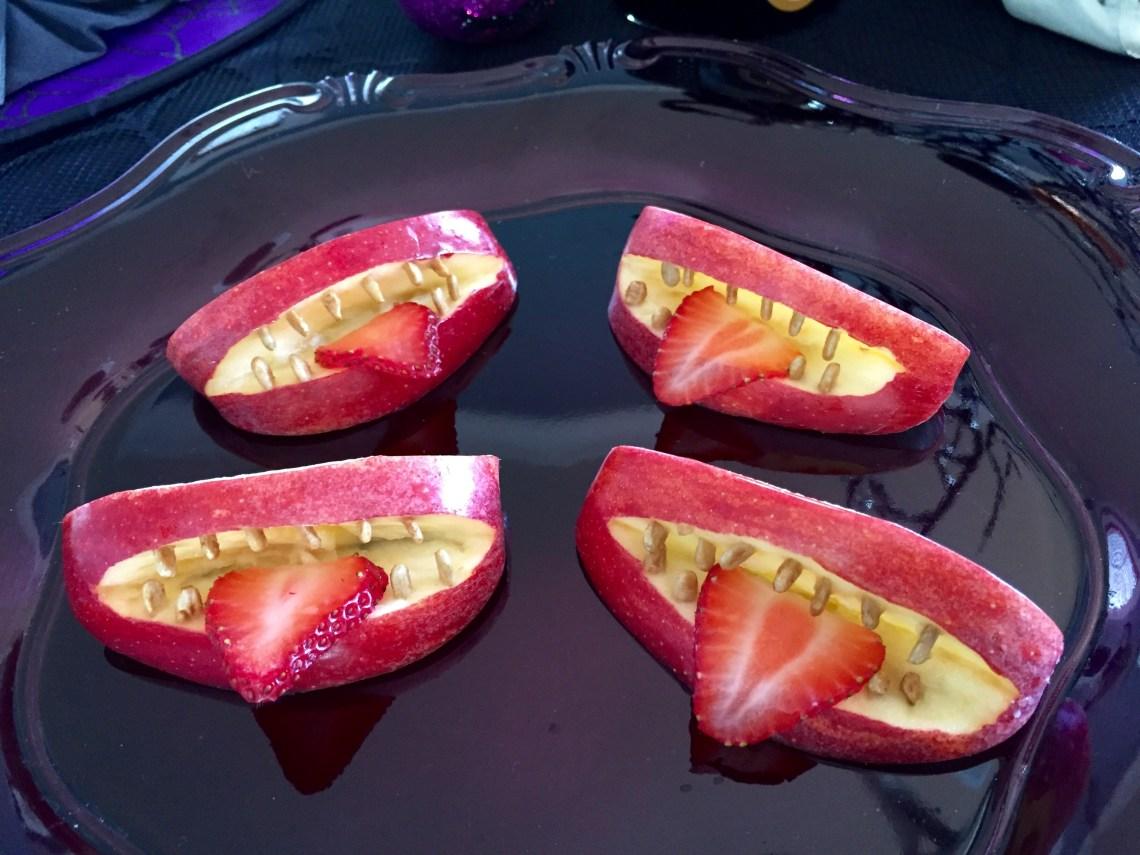 vampire-apple-bites-healthy-halloween-treat