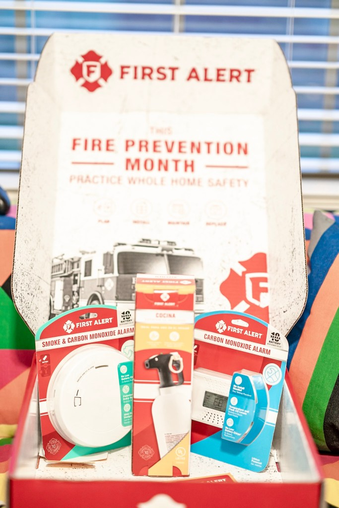 first alert fire prevention month kit