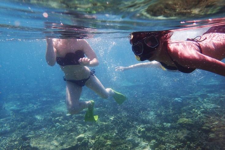 Snorkeling in Menjangan Island Bali 19