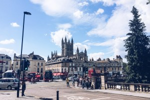 A Few Photos from Bath, and Postcards for the Blog Readers!