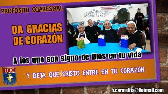 HFIC hermanas franciscanas de la inmaculada concepción cuaresma 20