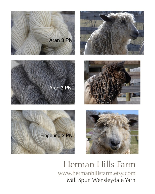 wensleydale yarn