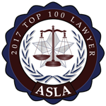 ASLA 2017 Top 100 Lawyers