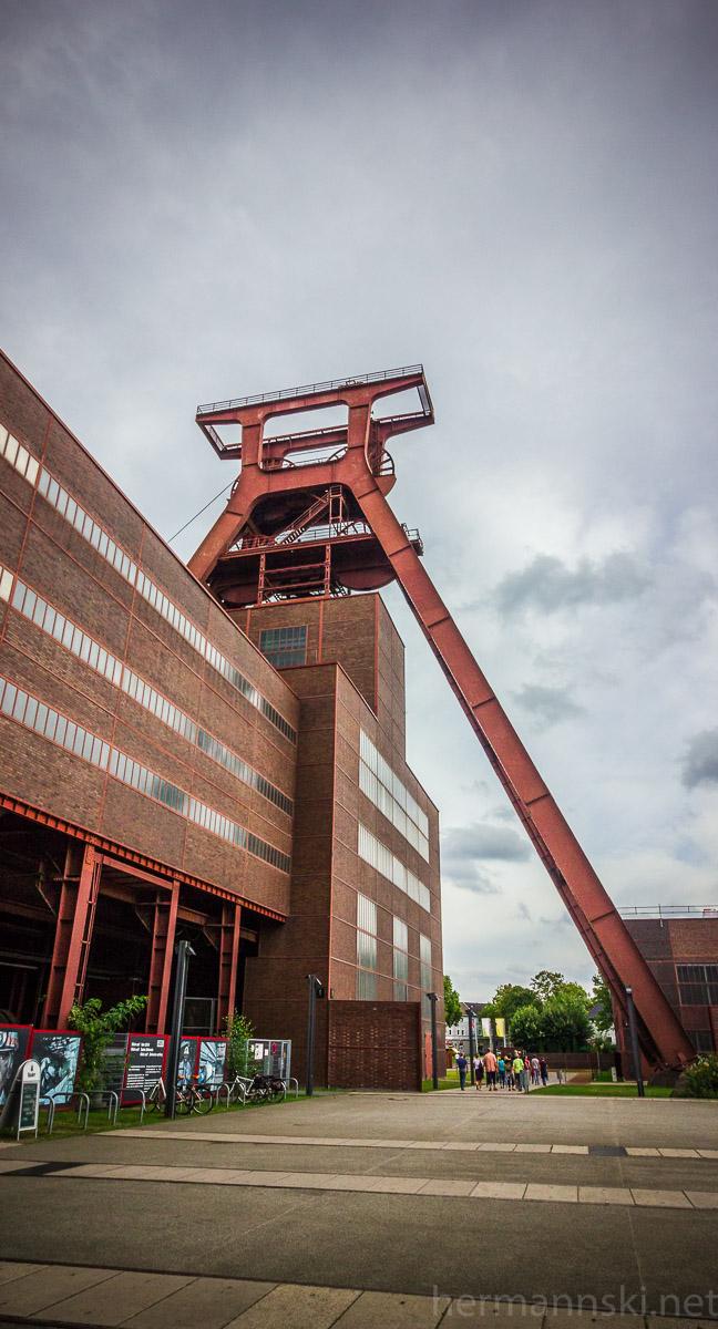 Zeche Zollverein Förderturm