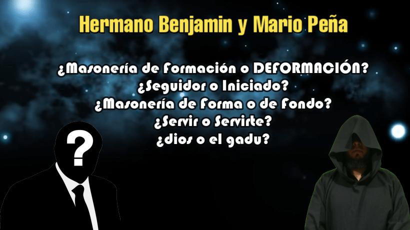 Hermano Benjamin y Mario Peña