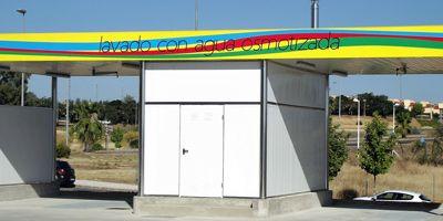 imagen del lavadero de gasolinera de Mérida