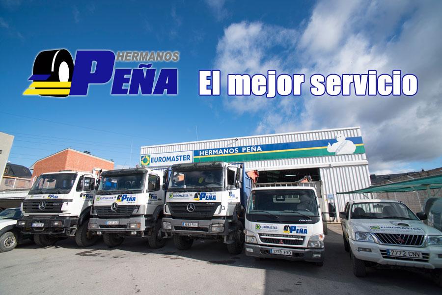 Servicio de mantenimiento de camiones