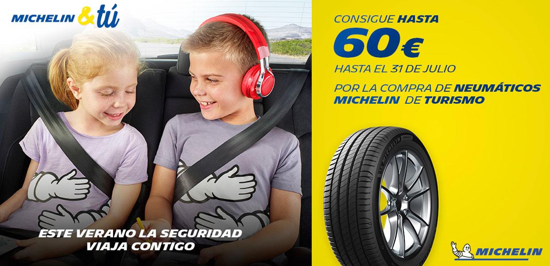 Promoción verano 2019 neumáticos Michelin