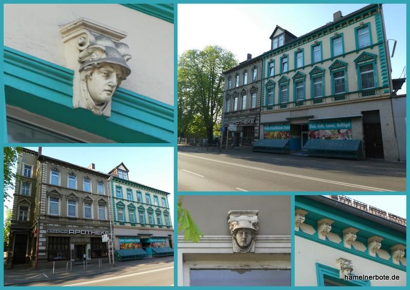 """Hermes-Haus"" in Hameln, Deisterallee"