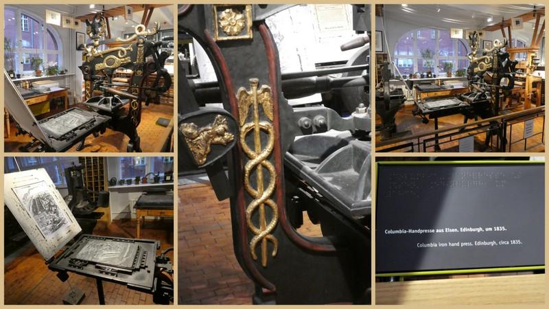 Hermesstab: Columbia-Handpresse – Technikmuseum Berlin