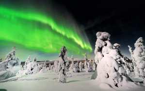 Ziemeļblāzmas meklēšana, Поиск северного сияния, Somija, Финляндия