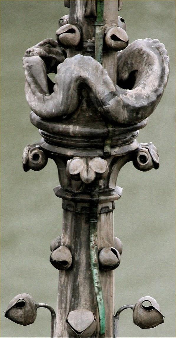 La vouivre de la cathédrale Notre-Dame de paris
