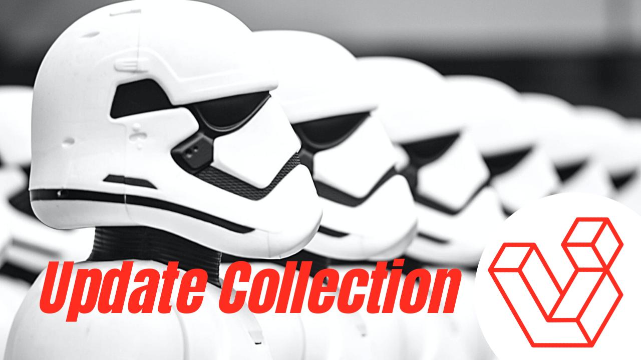 Actualizar colección de modelos