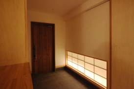 玄関 障子 木製玄関ドア