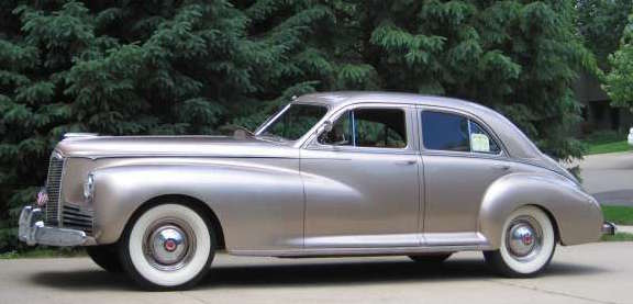 """""""Clipper Jack!"""" Dan's 1941 Packard Clipper as it appears 78 years after rolling out of the Detroit Packard Plant. later"""