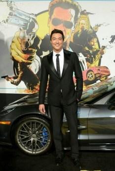 Daniel with the sexy Corvette ZR-1
