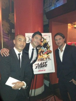 Martin, Daniel and Matt at the TCL Chinese Theater