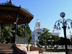 Plaza Zaragoza de Hermosillo, Sonora, méxico
