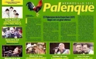Artistas del palenque ExpoGan Sonora 2015