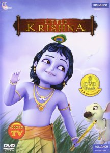 Little Krishna poster