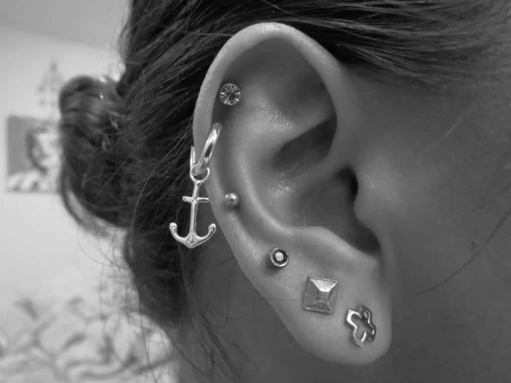 piercings oreille