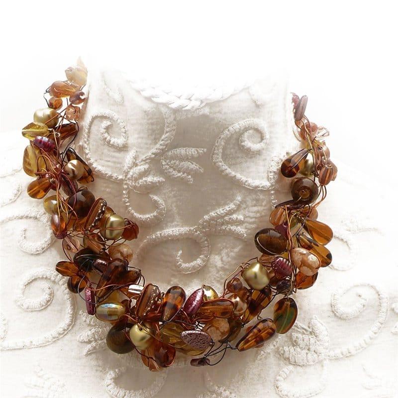 bijoux fantaisies ambre