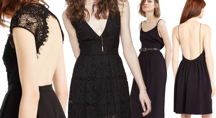 petite robe noire et bijoux