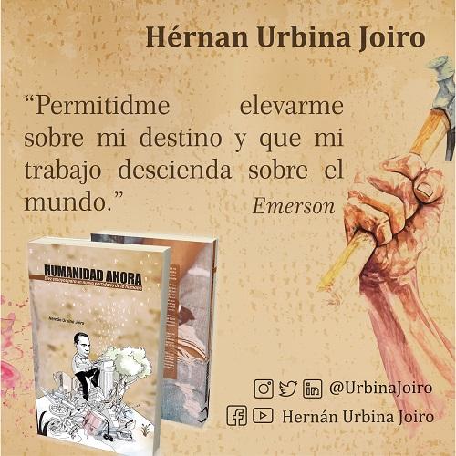 Hernán Urbina Joiro escritor