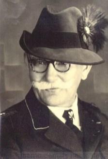 Herr Lindemann, der letzte Förster im Gysenberger Wald, Foto Stadtarchiv Herne