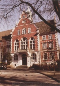 Rathaus Wanne, 2003, Repro Stadtarchiv Herne