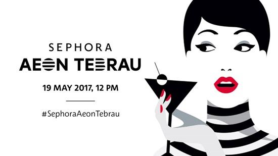 Sephora AEON Tebrau