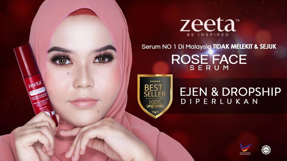 Rose Face Serum ZEETA2