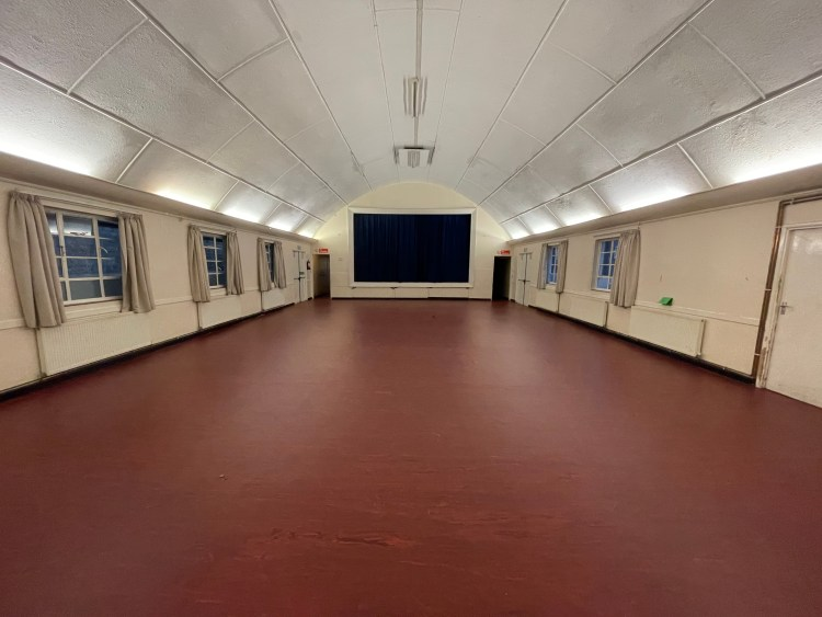 hall hire - view1