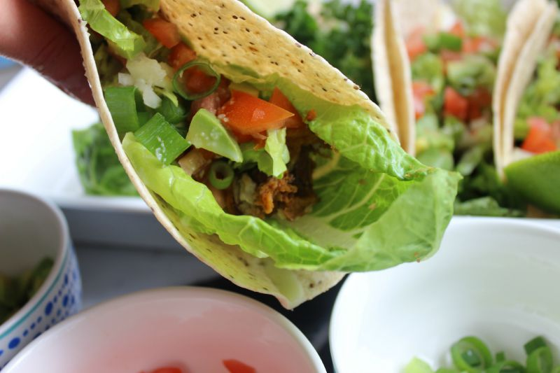 Not only are these wraps delicious, bursting with flavour, spicy and refreshing, but they are also super healthy and the perfect meatless Monday meal! They are totally vegan-friendly too.