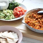 This healthy chicken nachos recipe is a firm favourite in our house, both for the kids and mum, because the kids ALWAYS eat their vegetables and love that they get to serve their own meal.