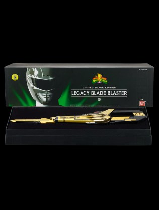 SDCC 2016 Limited Black Edition Mighty Morphin POWER RANGERS Legacy Blade Blaster Box